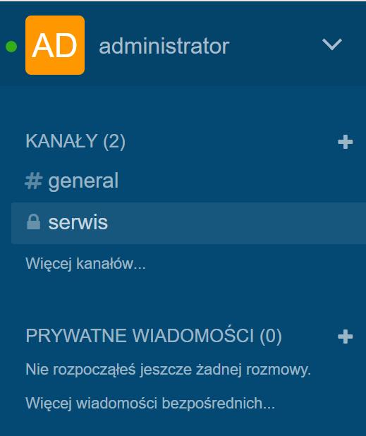 Chat firmowy - alternatywa dla Slack   Cloud OS
